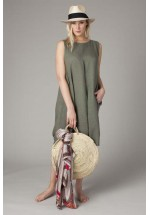 TULIP LINEN DRESS