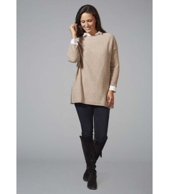 CREW NECK TUNIC JUMPER