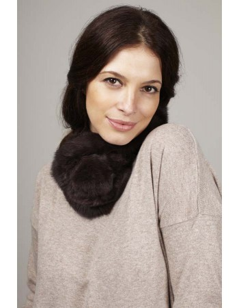 FUR NECK WARMER